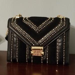 Michael Kors Whitney Leather Shoulder Bag